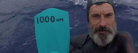 ТСН stories. Вперше переплисти Тихий океан: як француз намагається подолати відстань у 10 тисяч км