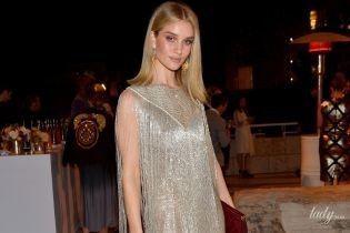 В платье от Givenchy: Рози Хантингтон-Уайтли пришла на церемонию в интересном наряде