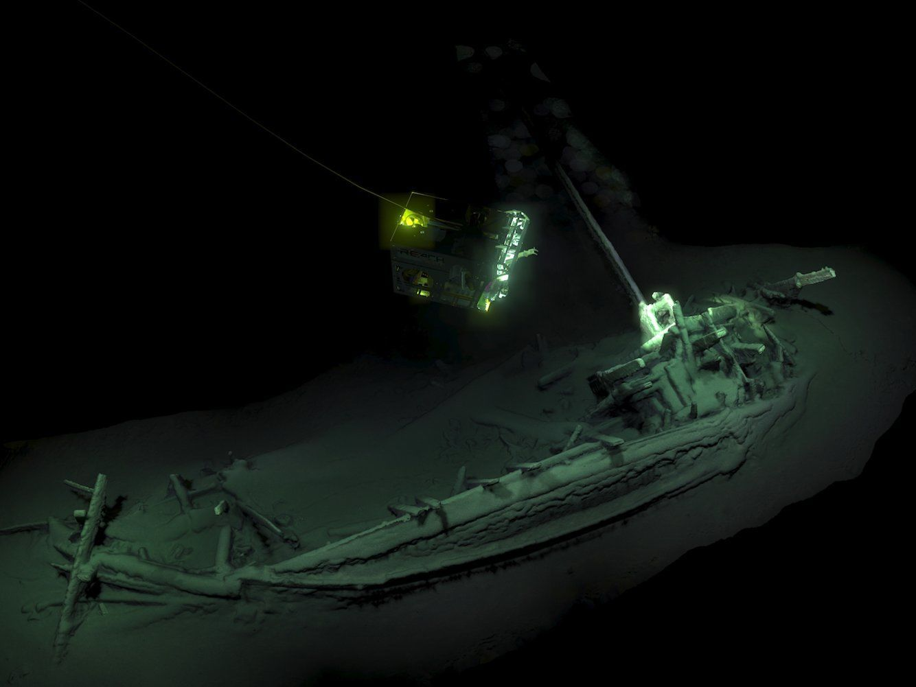 затонулий корабель