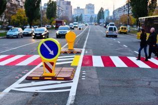 На нерегулируемых переходах украинских дорог появятся островки безопасности