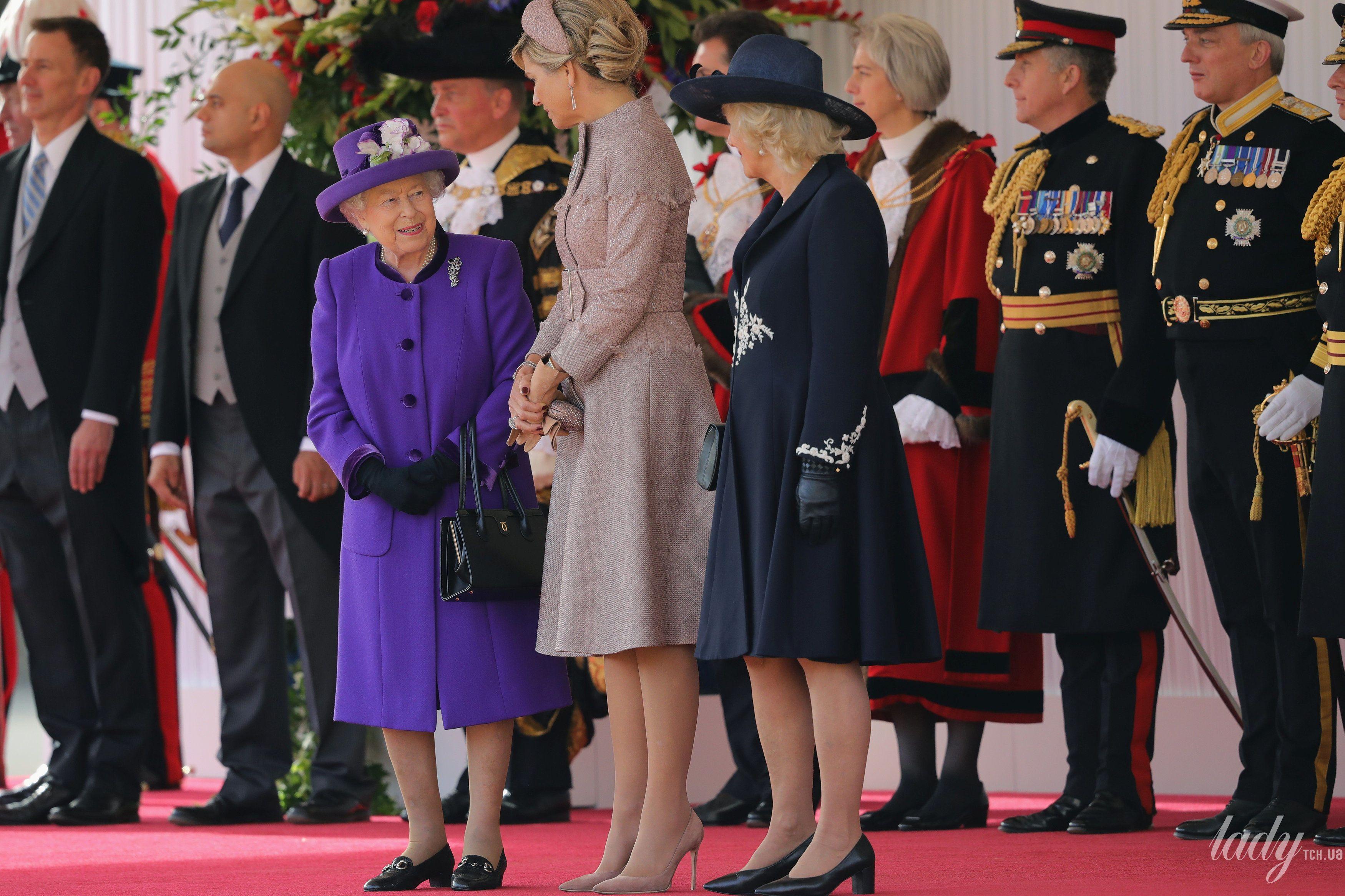 Королева Максима и королева Елизавета II_9