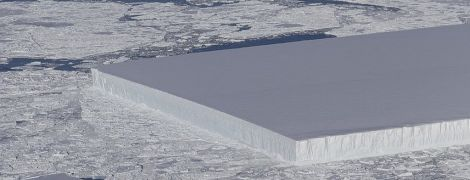Пришельцы или фотошоп: NASA вызвало бурную реакцию в Сети, показав загадочно равный айсберг