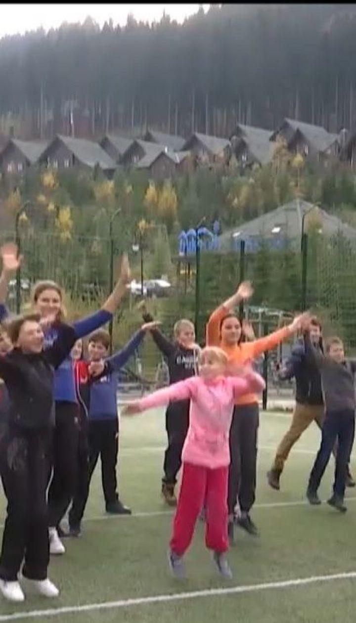 Детей с Ични и окружающих сел привезли на отдых в курортный Буковель