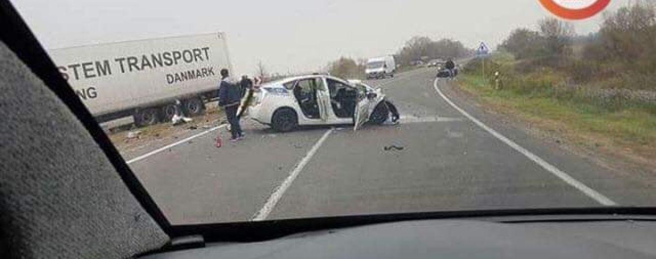 На Львовщине, не приходя в сознание, скончался пострадавший в ДТП патрульный полицейский