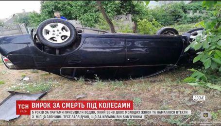 В Кривом Роге объявили приговор водителю, который пьяным за рулем сбил женщин