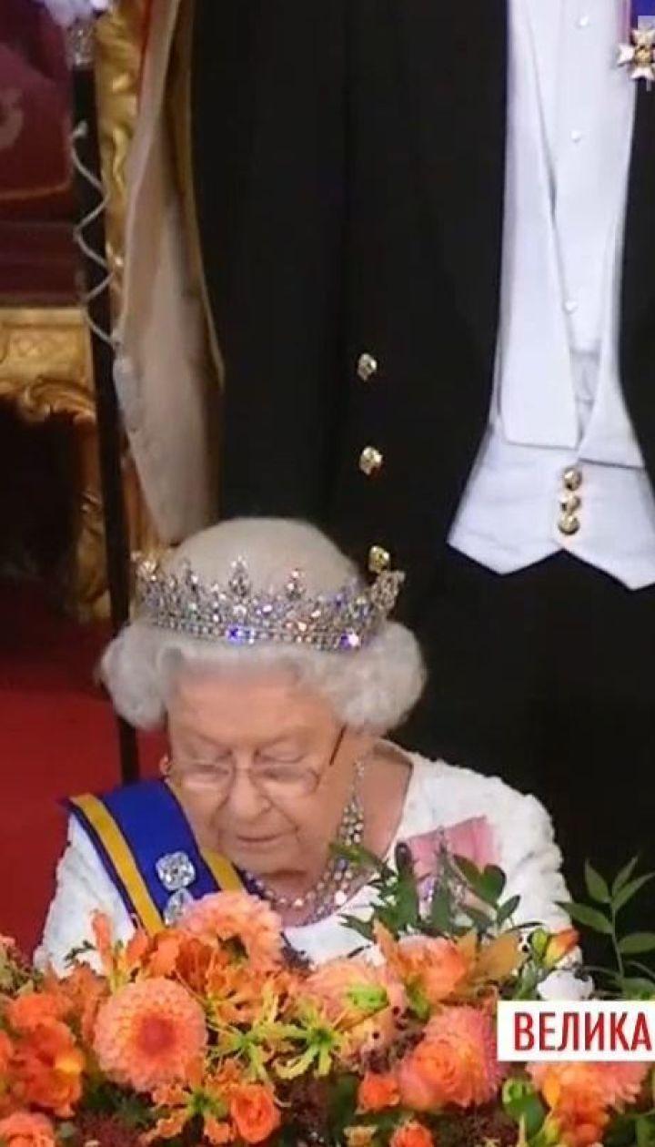 Королева Елизавета II впервые публично высказалась о выходе Британии из ЕС