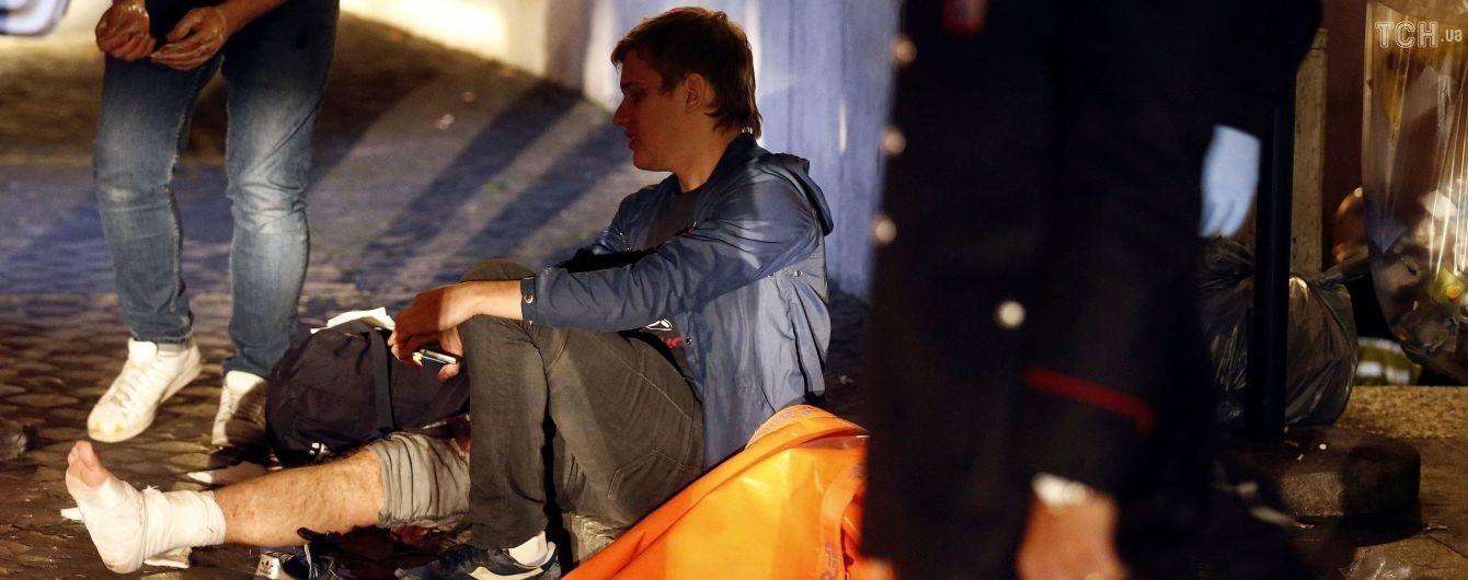 Під час аварії з російськими вболівальниками у римському метро деякі встигли перестрибнути на сусідній ескалатор