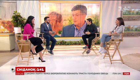 """Режисер Євген Баранов та акторка Зоряна Марченко розповіли про знімання серіалу """"Дві матері"""""""