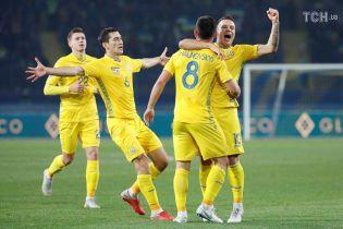 Стали відомі суперники збірної України в плей-оф Ліги націй