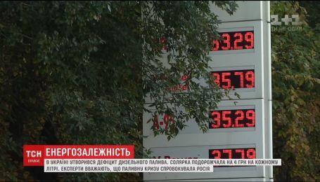 Енергозалежність: хто спровокував кризу на українському ринку палива