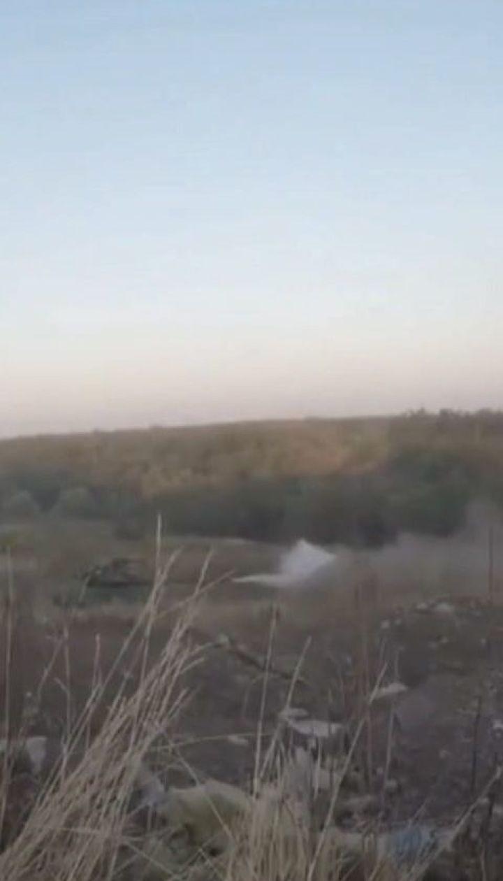 Фронтові зведення: на донецькому напрямку один український військовий дістав поранень