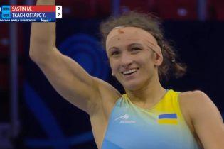 """Украина выиграла две """"бронзы"""" на чемпионате мира по борьбе"""