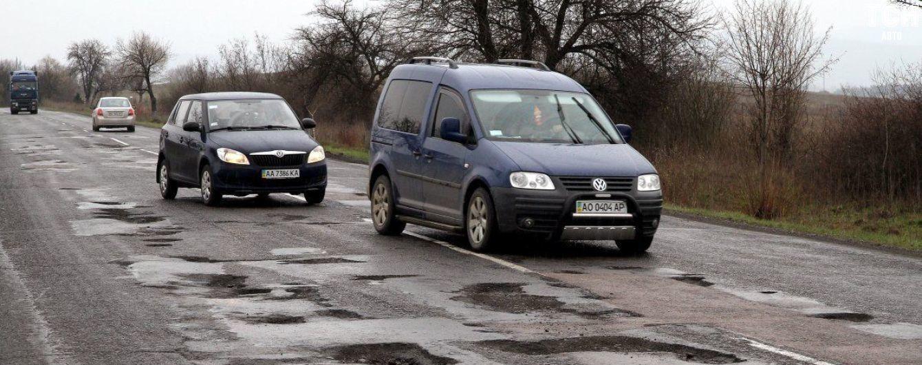 Стало відомо, скільки людей гине через погані дороги в Україні