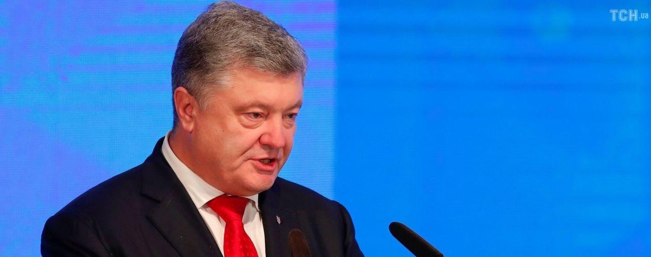 Воєнний стан в усій Україні буде запроваджений лише у випадку наземної агресії РФ – Порошенко