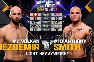 UFC. Волкан Оздемир – Энтони Смит. Видео боя