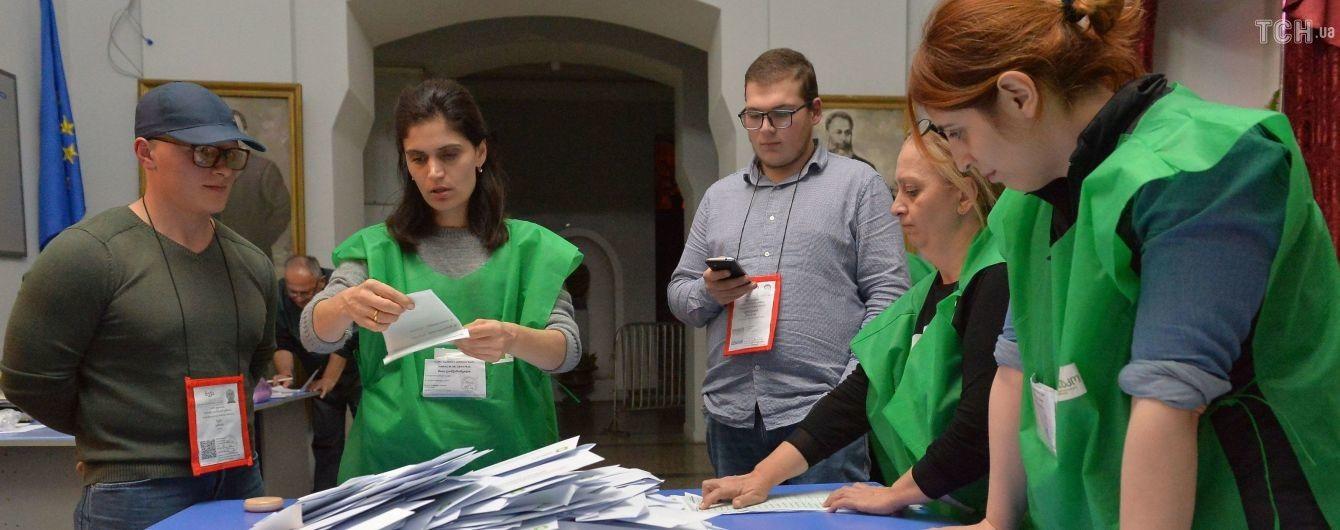 ЦВК Грузії підрахувала близько 70% голосів: не виключають другий тур