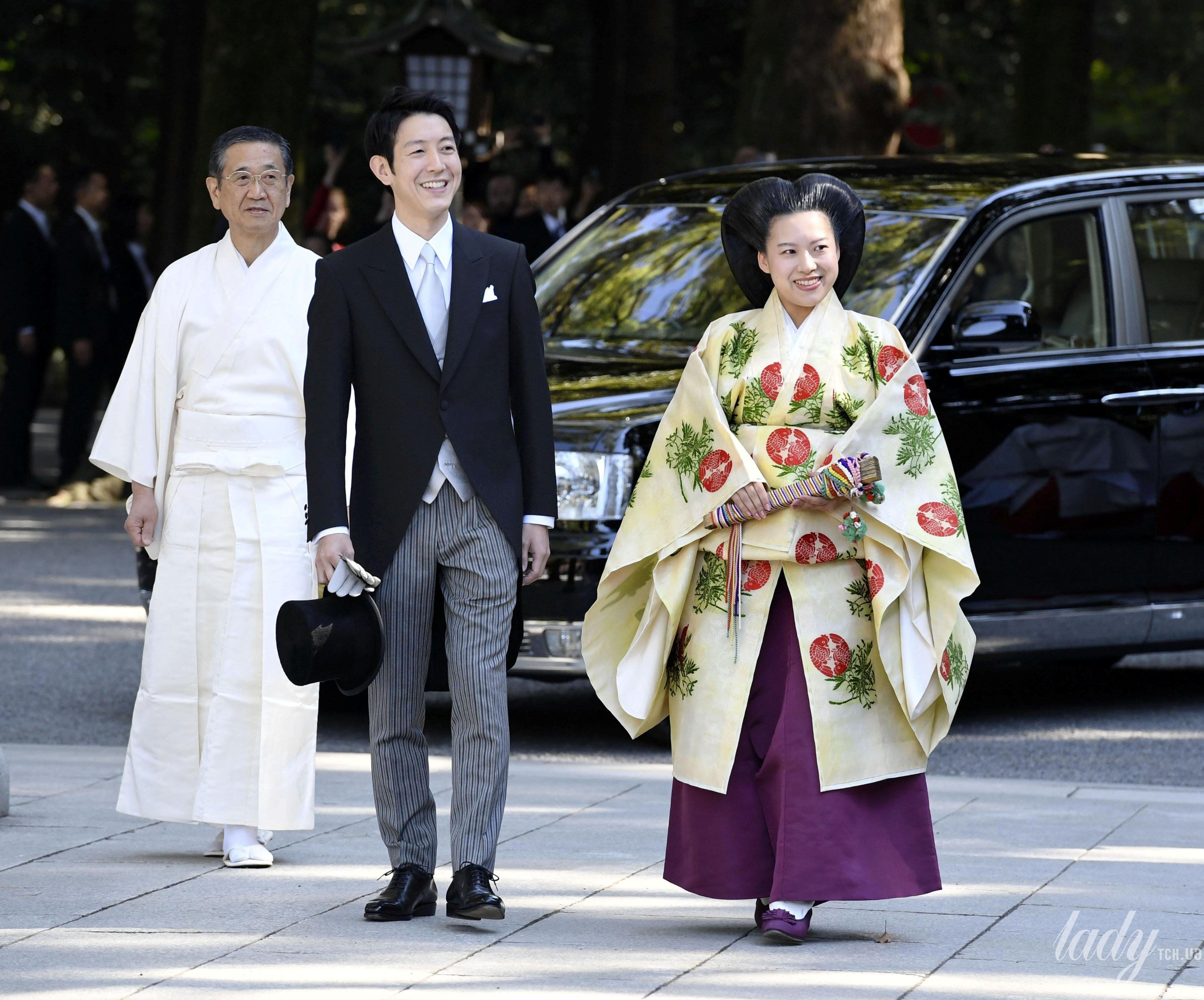 Свадьба принцессы Аяко и Кея Мория_1