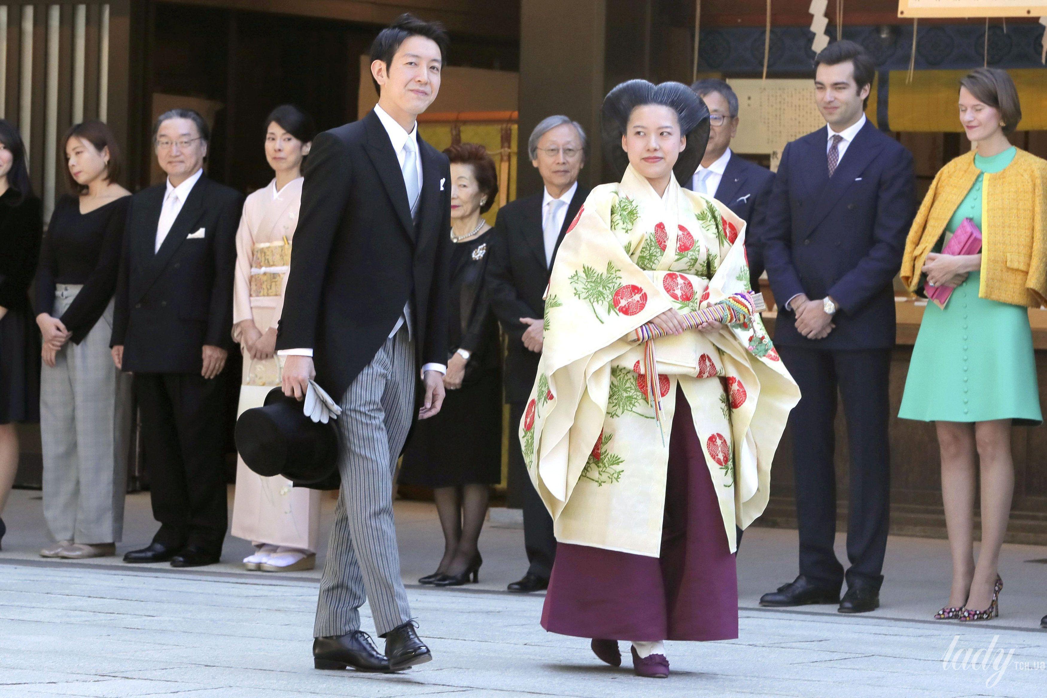 Свадьба принцессы Аяко и Кея Мория_3
