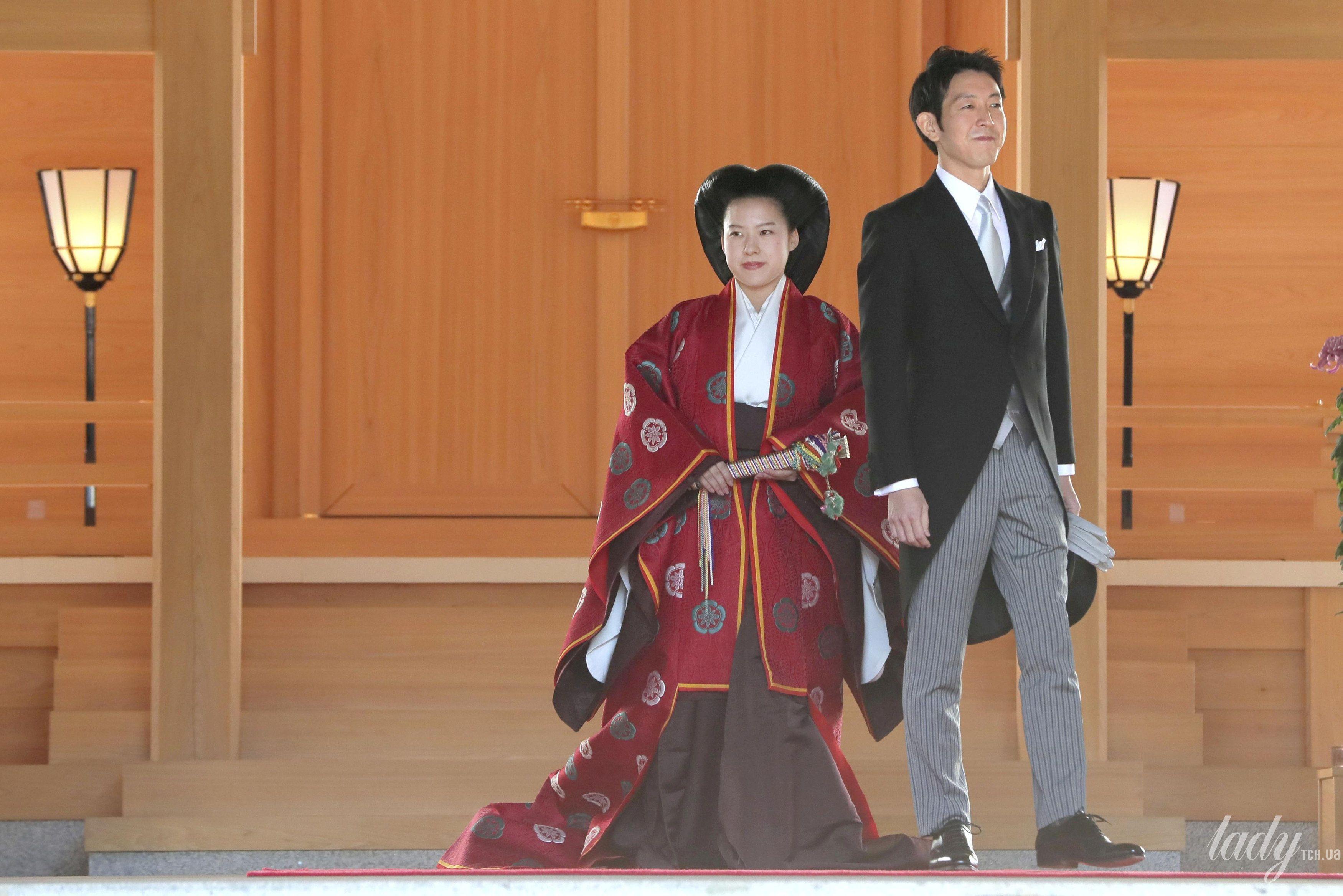 Свадьба принцессы Аяко и Кея Мория_5