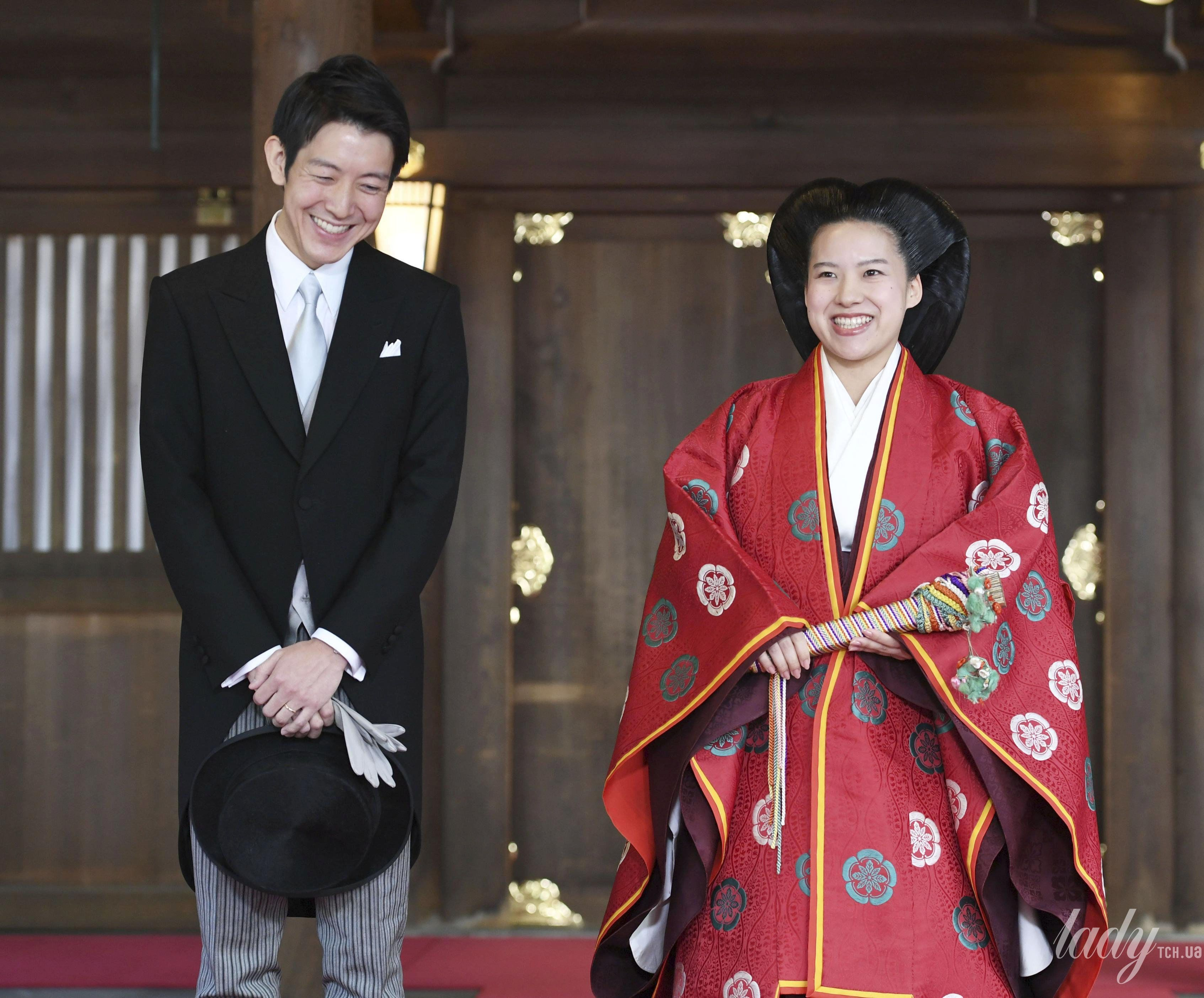Свадьба принцессы Аяко и Кея Мория_7