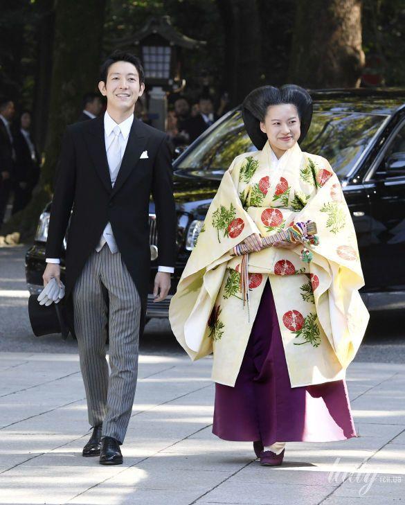 Свадьба принцессы Аяко и Кея Мория_2