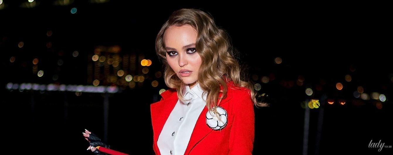 Коли твій костюм на Геловін від Chanel: Лілі-Роуз Депп продемонструвала ефектний образ