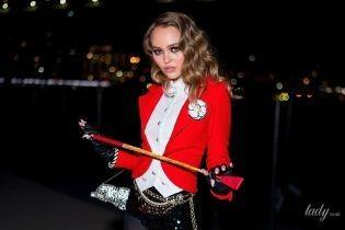 Когда твой костюм на Хэллоуин от Chanel: Лили-Роуз Депп продемонстрировала эффектный образ