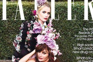В розкішних сукнях: Леді Кітті Спенсер і Гелена Крістенсер позували для нового фотосету