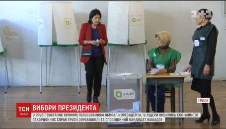 В Грузии в последний раз прямым голосованием выбирали президента