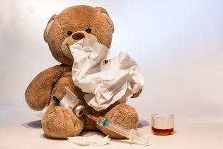 За прошедшую неделю в Украине увеличился уровень заболеваемости гриппом и ОРВИ среди детей