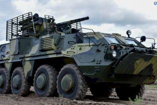 Украинская армия получила первые семь БТР-4, изготовленных из новой отечественной бронестали