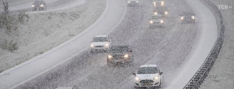 Встречаем первый снег: в среду Украина почувствует первое настоящее дыхание зимы