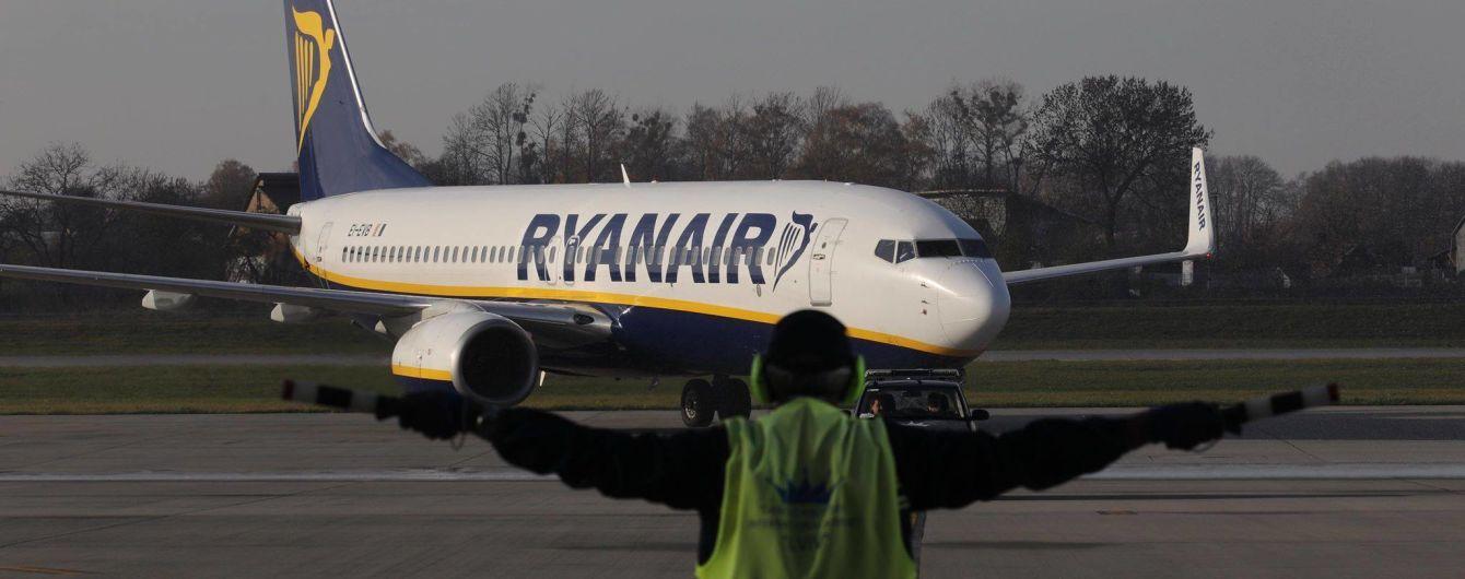 Лоукостер Ryanair совершил свой первый рейс со Львова