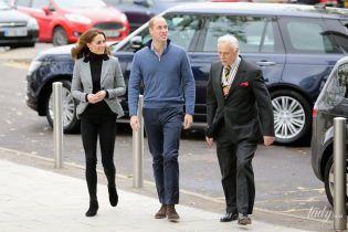 Струнка і красива: герцогиня Кембриджська Кетрін вийшла в світ разом з чоловіком принцом Вільямом