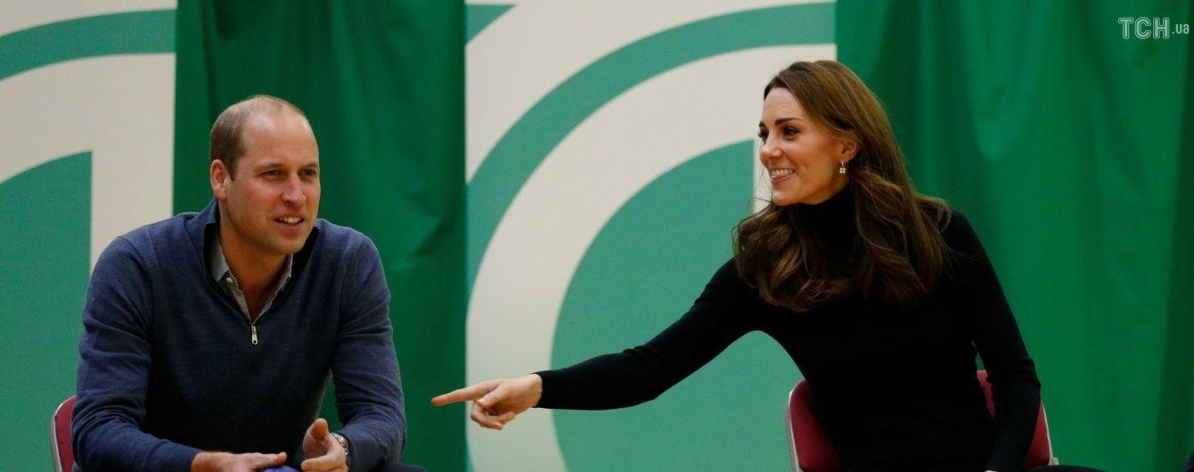 Утонченная Кейт и принц Уильям сыграли в теннис и пометали копья в графстве Эссекс