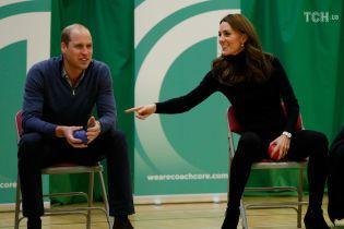 Витончена Кейт та принц Вільям зіграли в теніс та покидали списа у графстві Ессекс