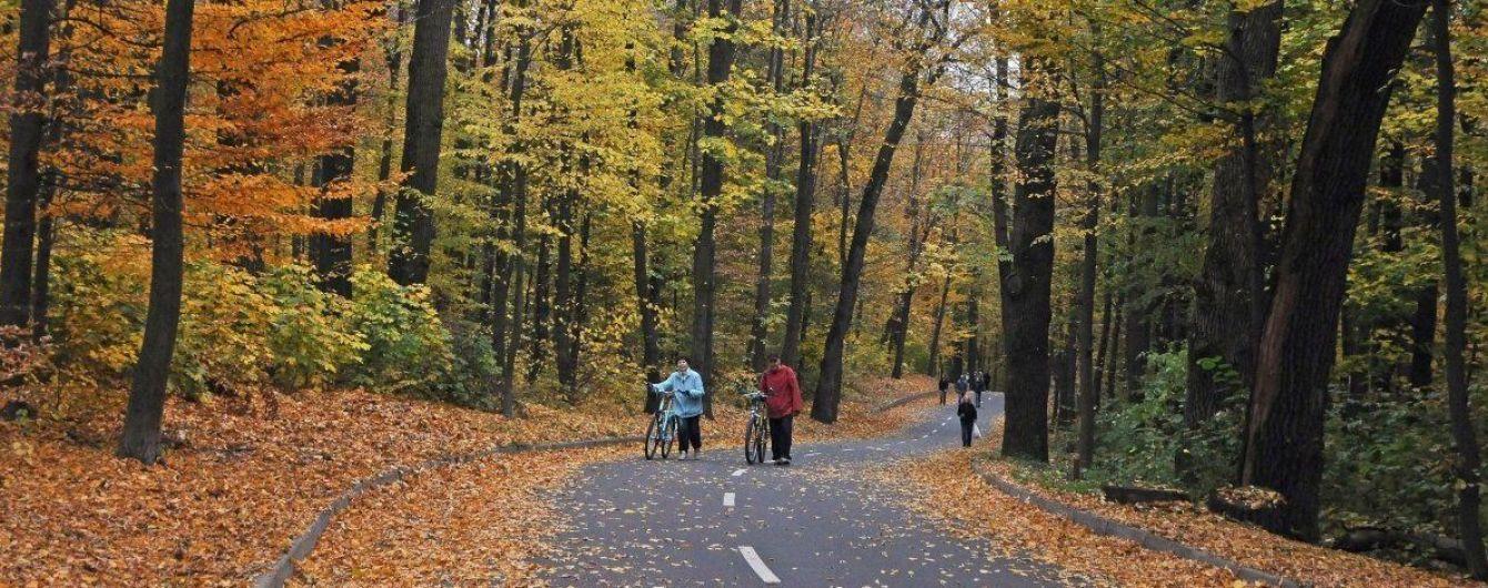 В Киеве зафиксировано рекордное для конца октября тепло