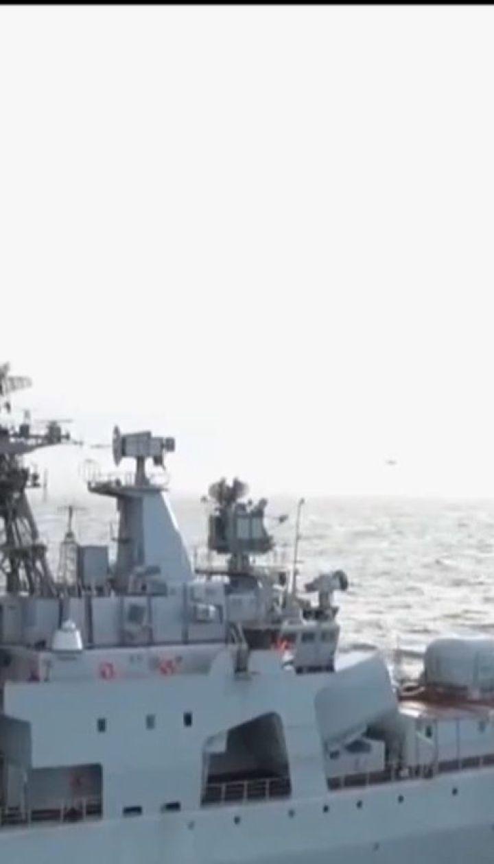 """У Мурманську затонув плавучий док, що ремонтував авіаносець """"Адмірал Кузнєцов"""""""