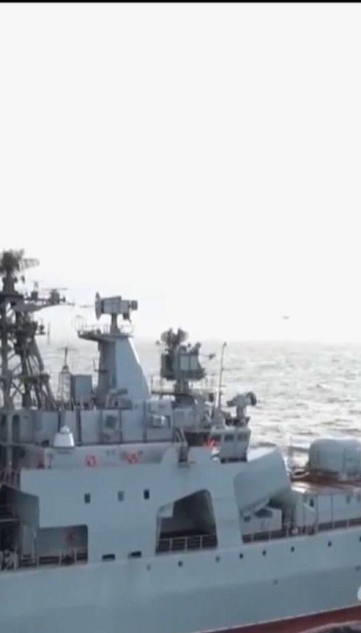 """В Мурманске затонул плавучий док, что ремонтировал авианосец """"Адмирал Кузнецов"""""""