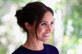 Королева будет в шоке: беременная герцогиня Меган засветила трусы