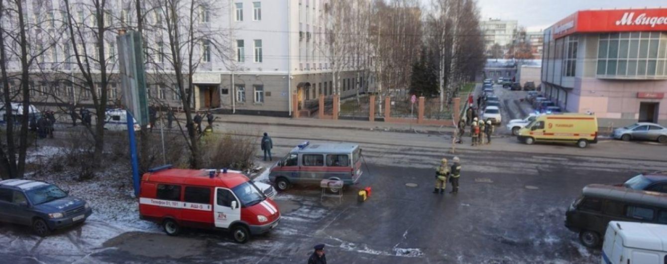 Вибух у будівлі ФСБ в Росії влаштував 17-річний місцевий мешканець. Справу розглядають як теракт