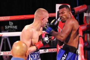 Непобедимый украинский боксер нокаутировал соперника уже в первом раунде