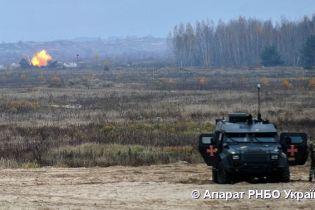 На полигоне ВСУ испытали новый минометный комплекс, созданный украинцами