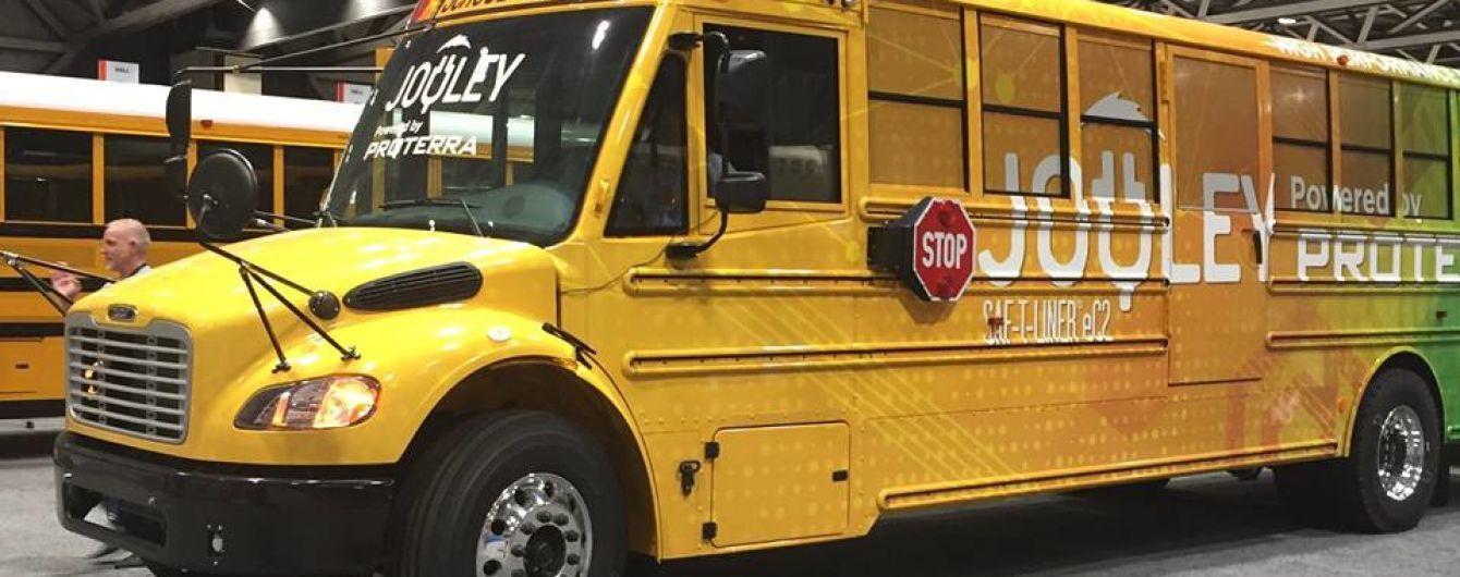 Підрозділ Daimler представив перший шкільний електробус