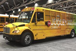 Подразделение Daimler представило первый школьный электробус