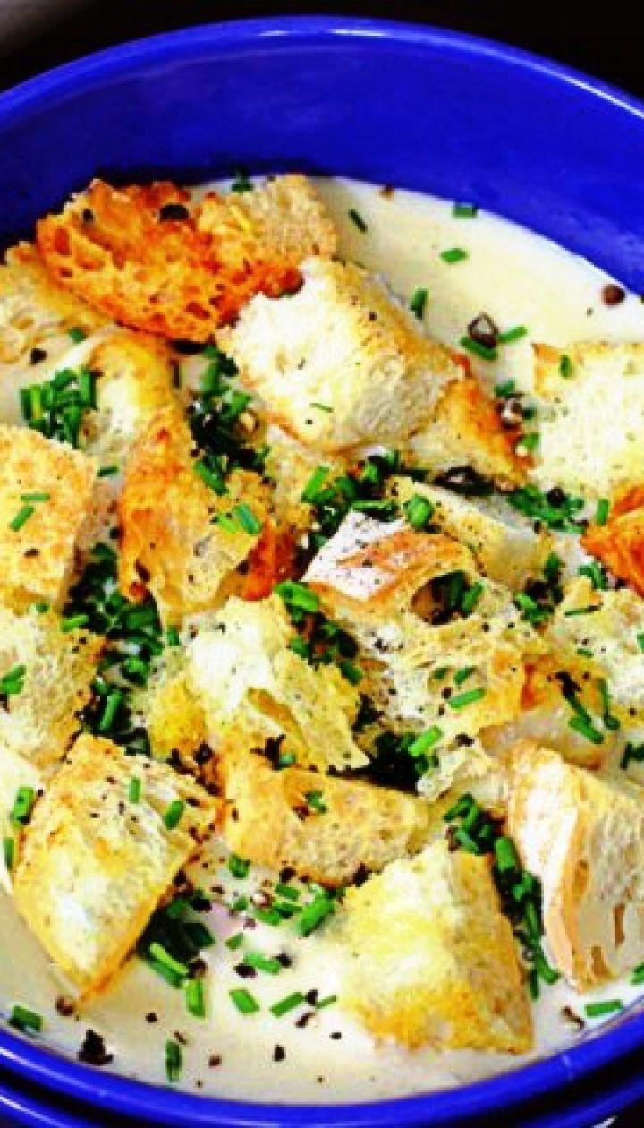 Сырный крем-суп: сытный и согревающий