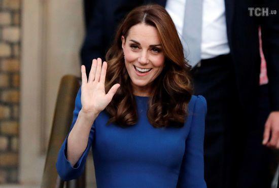 Кейт Міддлтон вперше прокоментувала майбутню дитину Меган і принца Гаррі