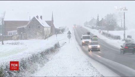 Ливни, наводнения и снег: в Западной Европе не утихает непогода