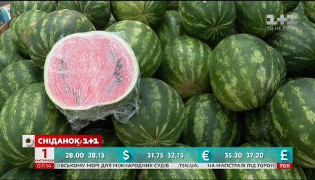 В Украине продолжается сезон арбузов, а экспресс в Борисполь начнет курсировать в конце ноября