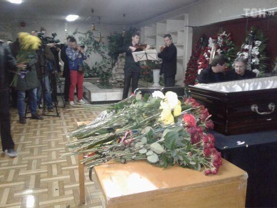 У Києві під мелодії з мультфільмів прощаються з Давидом Черкаським
